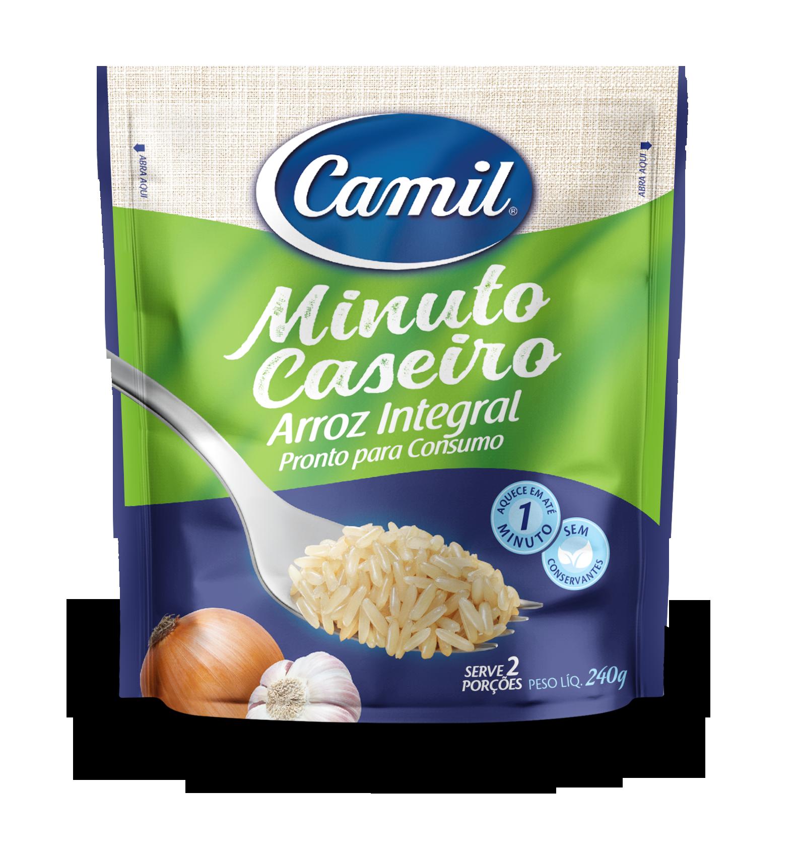 Arroz Integral Minuto Caseiro CAMIL