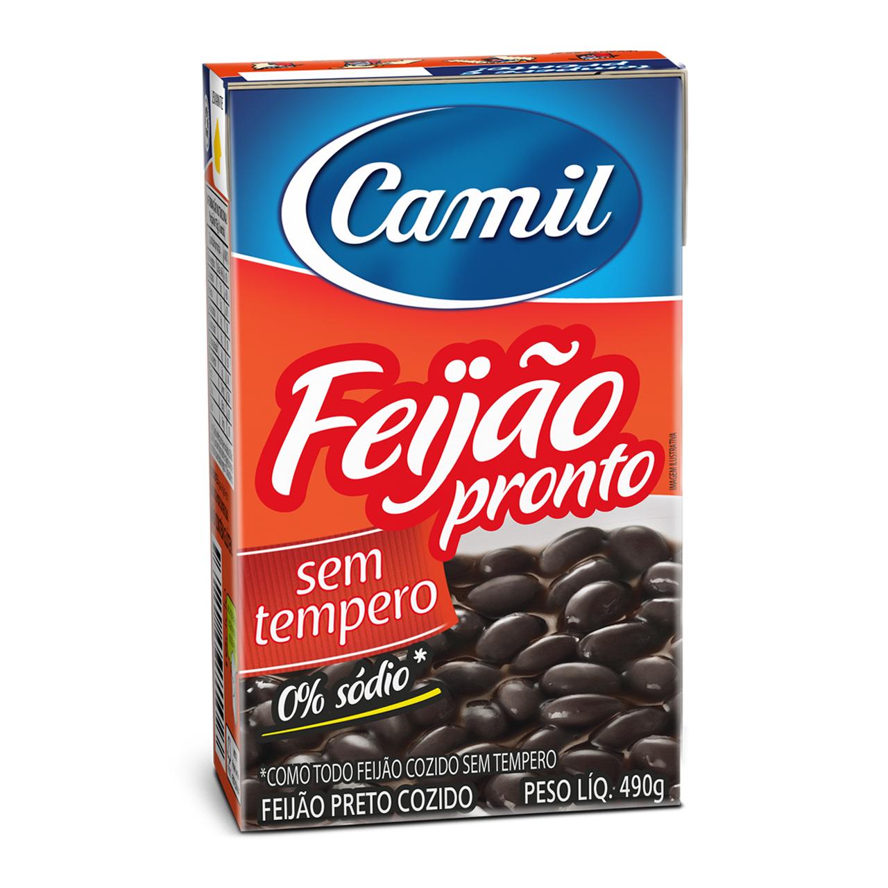 Feijão Preto Pronto Sem Tempero